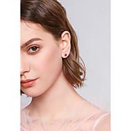 저렴한 -여성용 스터드 귀걸이 귀걸이 기대 단순한 단 보석류 골드 제품 선물 일상 1 세트