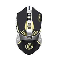 Χαμηλού Κόστους -IMICE V5 Ενσύρματο USB Gaming Mouse Οδήγησε αναπνευστικό φως 1200/1600/2400/3200 dpi 4 Ρυθμιζόμενα επίπεδα DPI 7 pcs Κλειδιά