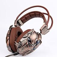 billige -Kubite Headset (styrfitting) T910 3.5mm Pandebånd Gaming Stereo