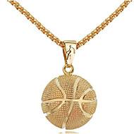 preiswerte -Herrn Damen Klassisch Pendant Halskette Edelstahl Blumen Korb Modisch Cool Gold Silber 58 cm Modische Halsketten Schmuck 1pc Für Alltag Strasse