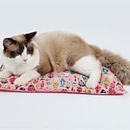 זול -כלבים חתולים מיטות חיות מחמד משטחים אחיד נייד שמור על חום הגוף רך כחול ורוד עבור חיות מחמד