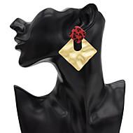 preiswerte -Damen Tropfen-Ohrringe Ohrring Ohrringe Schmuck Gold / Braun Für Alltag 1 Paar