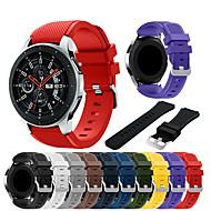 Horlogeband voor Samsung Galaxy Watch 46 Samsung Galaxy Sportband Silicone Polsband
