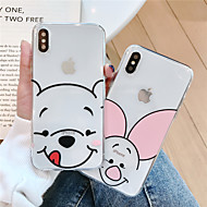 abordables -Coque Pour Apple iPhone XS / iPhone XR / iPhone XS Max Motif Coque Bande dessinée Flexible TPU