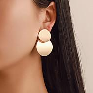 8f1c224eb6df abordables Pendientes-Mujer Geométrico Pendientes cortos Pendiente Aretes  Simple Europeo Moda Modern Joyas Dorado