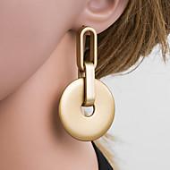 levne -Dámské Zlatá Geometrické Visací náušnice Náušnice Evropský Šperky Zlatá Pro Denní 1 Pair