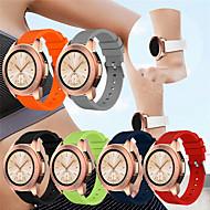 Χαμηλού Κόστους -Παρακολουθήστε Band για Gear S2 / Samsung Galaxy Watch 42 Samsung Galaxy Αθλητικό Μπρασελέ σιλικόνη Λουράκι Καρπού