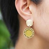 Χαμηλού Κόστους -Γυναικεία Κλασσικό Σκουλαρίκι θαυμαστής σκουλαρίκια Σκουλαρίκια Κλασσικό Βίντατζ Ευρωπαϊκό Κοσμήματα Καφεγκρί / Σκούρο πράσινο / Σκούρο Μπλε Μαρέν Για Καθημερινά Απόκριες Δρόμος Αργίες Δουλειά 1 Pair