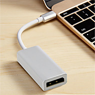 cheap -Type-C USB Cable Adapter OTG Adapter / Cable For Macbook 20 cm For Plastic & Metal / ABS+PC