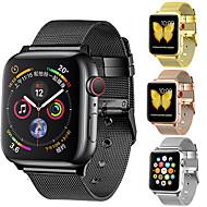 حزام إلى Apple Watch Series 4/3/2/1 Apple عقدة ميلانزية ستانلس ستيل شريط المعصم