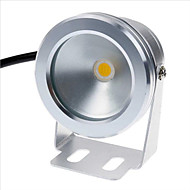 billige -1pc 10 W Undervannslys Vanntett Hvit / Gul 12 V Svømmebasseng 9 LED perler