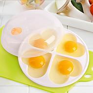 billige -PP (Polypropen) Gjør Det Selv Støpeform baking Tool GDS Kjøkkenredskaper Verktøy for Egg 1pc