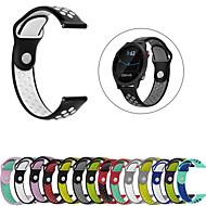 billige -Klokkerem til vivomove / vivomove HR / Vivoactive 3 Garmin Sportsrem Silikon Håndleddsrem