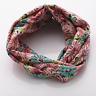 halpa -naisten söpö tyylikäs vintage kangas kukka