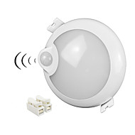 tanie -ZDM® 1 szt. 5 W 400 lm 25 Koraliki LED Czujnik podczerwieni Oświetlenie downlight LED Zimna biel 100-240 V Dom / biuro Salon / jadalnia Hol / korytarz/ schody