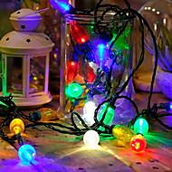 billige -15 m Lysslynger 50 LED Multifarget Dekorativ 220-240 V 1set