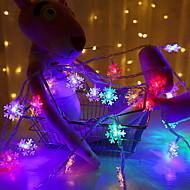 Χαμηλού Κόστους -3M Φώτα σε Κορδόνι 20 LEDs Πολύχρωμα Διακοσμητικό Μπαταρίες AA Powered 1set
