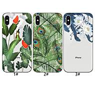 tanie -Kılıf Na Jabłko iPhone XR / iPhone XS Max Wzór Osłona tylna Drzewo / Kwiat Miękka TPU na iPhone XS / iPhone XR / iPhone XS Max