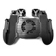 billige -h5 køligere køleventilator gamepad telefon controller håndgreb til pubg mobile