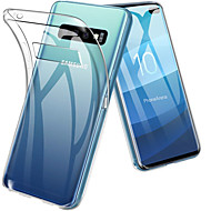 Hülle Für Samsung Galaxy Galaxy S10 / Galaxy S10 Plus Stoßresistent / Ultra dünn / Transparent Rückseite Solide Weich TPU für S9 / S9 Plus / S8 Plus