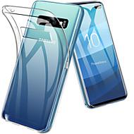tok Για Samsung Galaxy Galaxy S10 / Galaxy S10 Plus Ανθεκτική σε πτώσεις / Εξαιρετικά λεπτή / Διαφανής Πίσω Κάλυμμα Μονόχρωμο Μαλακή TPU για S9 / S9 Plus / S8 Plus