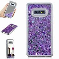 זול -מגן עבור Samsung Galaxy S9 Plus / S8 Plus עמיד בזעזועים / נוזל זורם / מראה כיסוי אחורי זוהר ונוצץ / צבע הדרגתי קשיח TPU ל S9 / S9 Plus / S8 Plus