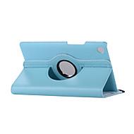 お買い得  -ケース 用途 Huawei MediaPad MediaPad M5 8 360°ローテーション / 耐衝撃 / スタンド付き フルボディーケース ソリッド ハード PUレザー