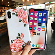 cheap -Case For Apple iPhone XS Max / iPhone 6 Pattern Back Cover Flower Hard PU Leather for iPhone XS / iPhone XR / iPhone XS Max