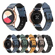 tanie -Watch Band na Gear S3 Frontier / Gear S3 Classic / Gear S3 Classic LTE Samsung Galaxy Klasyczna klamra Prawdziwa skóra Opaska na nadgarstek