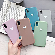 economico -custodia per apple iphone xr / iphone xs modello max cover posteriore cuore soft tpu per iphone x xs 8 8plus 7 7plus 6 6plus 6s 6s plus
