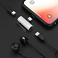 povoljno -2 u 1 slušalice glazba zadužen tip-c 3.5mm audio adapter kabel za Samsung huawei xiaomi Sony htc motorola itd..