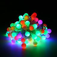 billige -loende 3xaa batteri led globe streng lys 2m 20leds led utendørs fest dekorasjon christmas hageferie belysning