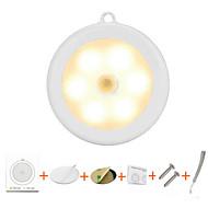 billige -2pcs lanyard hockey induksjonslampe fri installasjon magnetisk lime gulvskap rund lys kontroll øye fôring natt lys