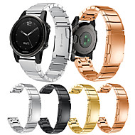 tanie -pasek smartwatch dla fenix 5s / fenix 5s quickfit garmin garmin nowoczesna klamra ze stali nierdzewnej sport band moda pasek na nadgarstek