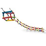 abordables -Pájaro Perchas y Escaleras Madera Amigable con las Mascotas / Juguete del foco / Juguetes de felpa y tela 50 cm