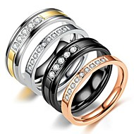 cheap Couple Rings-Couple's Couple Rings / Ring 1pc Silver /