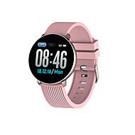 お買い得  -kimlink lv18男性女性smartwatch android ios bluetooth情報メッセージ制御アンチロスト距離追跡運動記録クロノグラフ運動リマインダーコミュニティ共有目覚まし時計私のデバイスを見つける