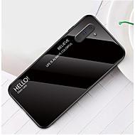 povoljno -Θήκη Za Samsung Galaxy Samsung Note 10 / Galaxy Note 10 Plus Otporno na trešnju / Ultra tanko Stražnja maska Jednobojni Kaljeno staklo