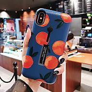 povoljno -futrola za jabuku iphone xs / iphone xr / iphone xs max otpornost na prašinu / sa postoljem / uzorkom stražnje obloge hrana / crtani pc