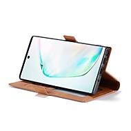 povoljno -Θήκη Za Samsung Galaxy Note 9 / Galaxy Note 10 / Galaxy Note 10 Plus Novčanik / Utor za kartice / Otporno na trešnju Korice Jednobojni PU koža