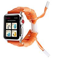 billige -varmt salg 9 farver ny personlighed blonder vævet stropp til apple watch band 38 / 40mm 42 / 44mm serie 4 3 2 1