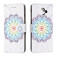 cheap -Case For Samsung Galaxy J6 (2018) / J4 (2018) / Galaxy J4 Plus(2018) Wallet / Card Holder / Flip Full Body Cases Flower PU Leather For Samsung Galaxy J6 Plus/M10/M20/M30