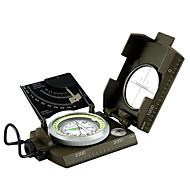 ieftine -Compas Exterior Portabil Busolă MetalPistol Exerciții exterior Camping / Cățărare / Speologie Voiaj Verde Militar