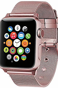 cheap -Watch Band for Apple Watch Series 4/3/2/1 Apple Milanese Loop Metal / Stainless Steel Wrist Strap