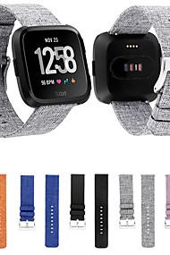 levne -Watch kapela pro Fitbit Versa Fitbit Sportovní značka Materiál / Nylon Poutko na zápěstí