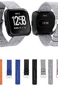 tanie -Watch Band na Fitbit Versa Fitbit Pasek sportowy Tkanina / Nylon Opaska na nadgarstek