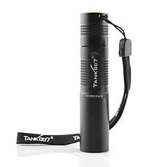 abordables Tank007-Tank007 Linternas LED Linternas de Luz Negra Linternas de Mano LED - 1 Modo de Iluminación Impermeable, Luz Ultravioleta