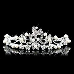 Women's Alloy Imitation Pearl Headpiece-Wedding Special Occasion Tiaras