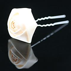 Χαμηλού Κόστους Κοσμήματα Μαλλιών-Γυναικείο Κορίτσι Λουλουδιών Σατέν Headpiece-Γάμος Ειδική Περίσταση Γραφείο & Καριέρα Υπαίθριο Καρφίτσα Μαλλιών
