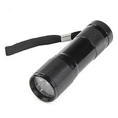 olcso Zseblámpák-LED zseblámpák Kézi elemlámpák LED lm 1 Mód - Fekete
